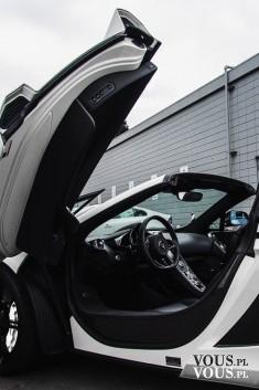 nowoczesny samochód, luksusowe sportowe auto
