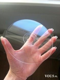 przeźroczysta płyta CD