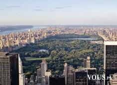 Panorama miasta. Cudowny widok na miasto.