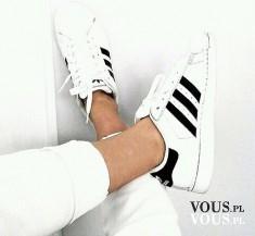 białe buty adidas, adidas, buty sportowe