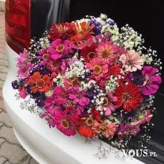 przepiękny bukiet kwiatów