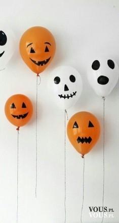 Jak zrobić dekoracje na hallowen. Idealny pomysł na balony, duchy?