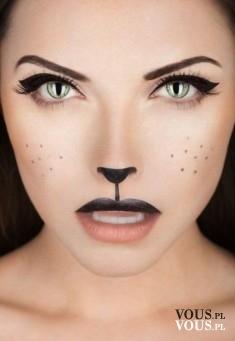 Makijż na hallowen, kot, jak zrobić?