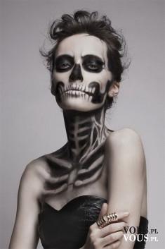 Jak zrobić taki makijaż na Halloween?