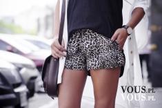 Miejski styl, szorty w panterkę, motyw zwierzęcy- czy nadal modny?