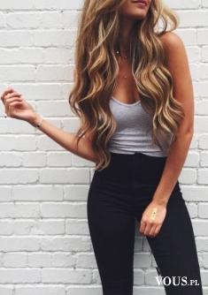 Delikatne fale na włosach , naturalne fale bez zniszczenia włosów