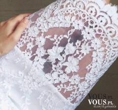 Biała koronka, materiał koronkowy, tkanina koronkowa, koronka na suknię ślubną, co uszyć z koronki