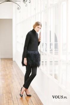 Women in black, elegancka czerń, czarna stylizacja