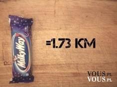 Milky Way – czy ten batonik jest zdrowy? Ile ma kcal? Żeby spalić kalorie z batonika musis ...