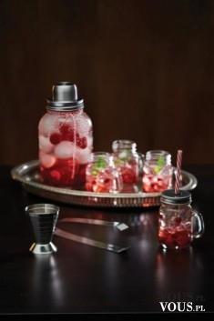 Szklany shaker + 4 minisłoiki z uchwytem – Kitchen Craft