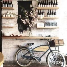 Rower, wina, wystrój restauracji. Czy restauracja w stylu retro jest w Warszawie?
