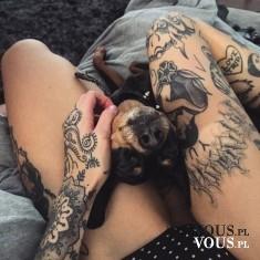 Wow! Tatuaże na udach!
