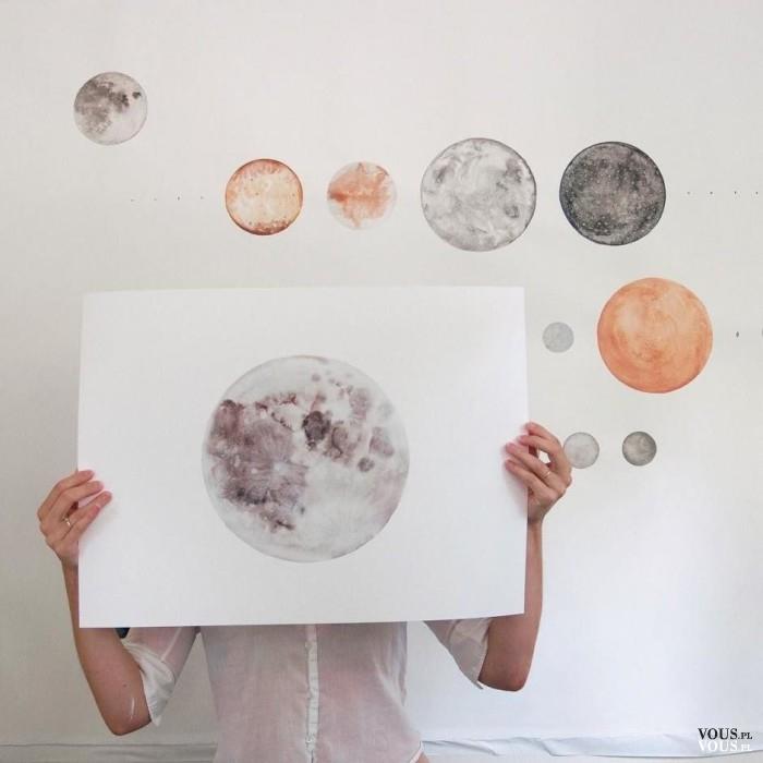 Namalowane planety, galaktyka