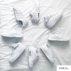 Genialne! Białe Adidas i Nike <3 Models white