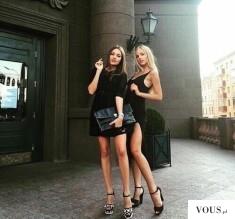 Dwie szczupłe dziewczyny instagram