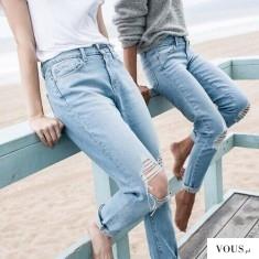 Proste jeansy na lato, jeans na plaże to dobry pomysł?