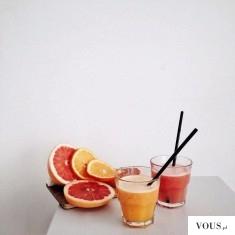 Sok z grejpfruta i pomarańczy