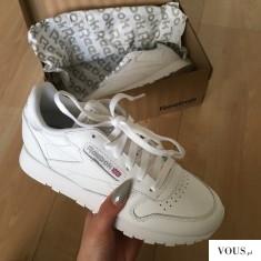 Białe buty Reebok