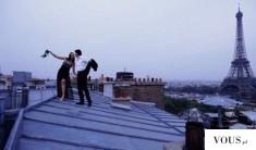 Szalona para na randce w Paryżu, randka na dachu. Gdzie zabrać swoją ukochaną? O czym marzą kobiety?