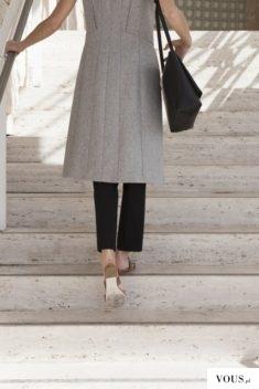 minimalistyczna stylizacja, szary+czarny
