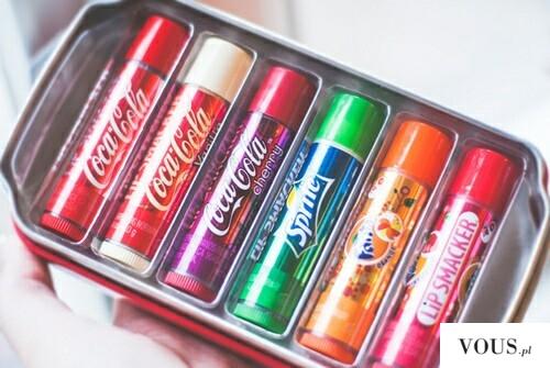 Szminka – kredka do ust – coca cola, sprite, fanta