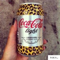 Coca cola light – puszka panterka