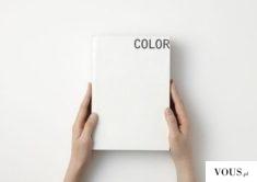 biały notes – kolor – color – minimalizm