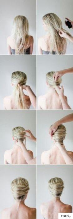 piękna fryzura na lato