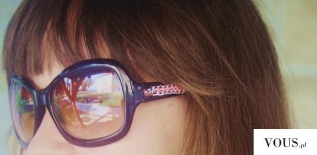 ważkowa : okulary DIY w stylizacji black and coral
