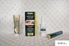 Ważkowa: Farbowanie brwi i rzęs henną firmy Venita