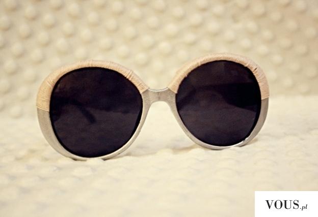 Ważkowa : Diy srebrno-różowe okulary