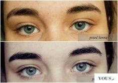 Ważkowa : Farbowanie brwi i rzęs henną firmy Venita