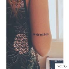pomysł na delikatny tatuaż