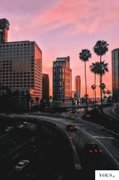 zachód słońca w Miami