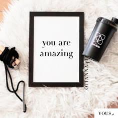 "obraz ""you are amazing"" ze sklepu OTIEN"