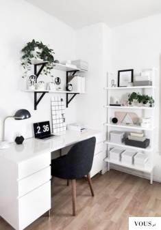 idealny pokój kobiecy do pracy