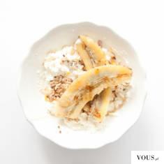 co jeść na masę? twaróg z bananem