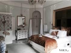 brązowa sypialnia – sypialnia w bieli i brązie   inspiracje