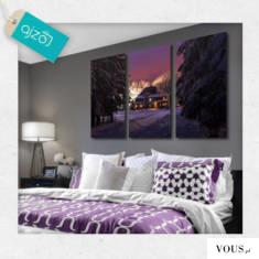 Piękna chatka w górach w zimowej aurze. Magiczna dekoracja może okazać się doskonałym rozwiązani ...