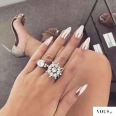 sylwestrowe święcące błyszczące paznokcie piękne inspiracja