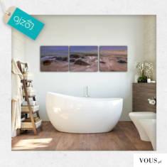 Łazienka to miejsce na wypoczynek dlatego należy zadbać o to by aura sprzyjała relaksowi. Trzycz ...