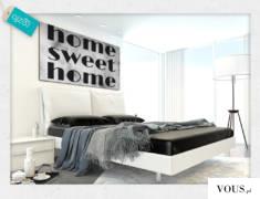 Obraz z napisem home sweet home doskonały do upiększenia ścian w salonie lub sypialni.