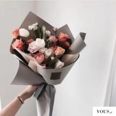 bukiet pastelowych róż