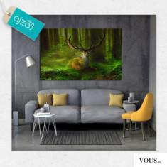 Dekoracja, która doskonale sprawdzi się w biurowych wnętrzach jak i w pokoju dzienny. Obraz z mo ...