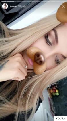 Deynn przefarbowała włosy- na blond