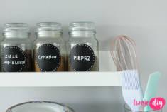 Pojemniki na przyprawy ze słoików po kawie – Twoje DIY – Babstyl | Babstyl