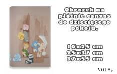 Dekoracja do pokoju dziecka. Drukujemy nie tylko #zdjęcia na #płótnie canvas, możemy wydrukować  ...