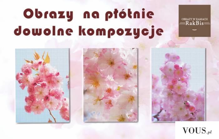 Przywitaj wiosnę w swoim domu. Możemy stworzyć dla Cibie obrazy na płótnie w trzech rozmiarach w ...