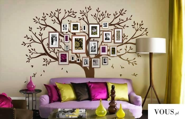 Macie dużo wolnej przestrzeni na ścianie?? Co powiecie na takie rozwiązanie.  Zdjęcia rodzinne , ...