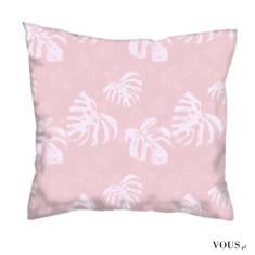 Poduszka Pink Jungle doestępna na stronie: https://graficiarnia.selino.pl/worek-spring-shopping, ...